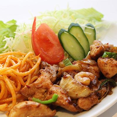 鶏肉のエスニック風炒めセット