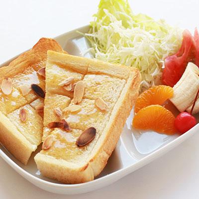 ハニートーストセット